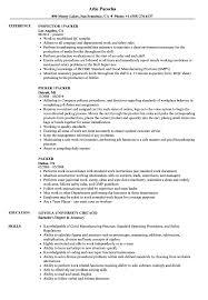 Sample Resume For Packer Job Packer Resume Samples Velvet Jobs 68