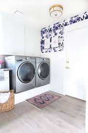 Laundry Room Wallpaper Designs Park Home Reno Laundry Room Makeover Classy Clutter