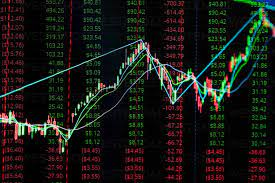 Close-Up Of Stock Market Data On ...