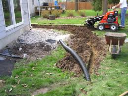 Five Common Sump System Defects - Exterior drain pipe