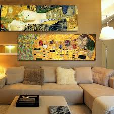<b>Classic</b> Styles Decorative Painting <b>Gustav Klimt</b> The <b>Kiss</b> Canvas ...