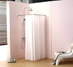 best shower curtains suspended oval shower curtain rod contemporary bathroom best shower curtains images on round best shower curtains
