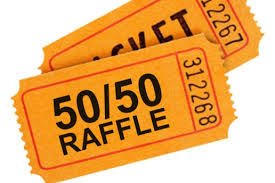 50 50 raffle sign template dittmaier fundraising for 5th annual fundly