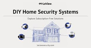 diy home security systems no monthly fees
