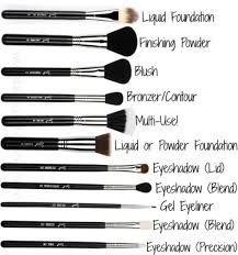 diffe types of makeup brushes their uses