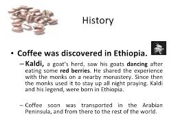 In the ottoman palace a new method of drinking coffee was discovered: The Magic Of Coffee