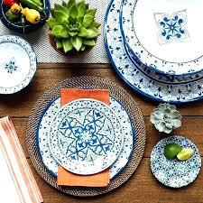 melamine dinnerware sets are unbreakable rustic