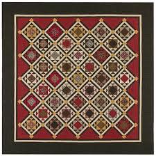 Soldier's Waltz Quilt Pattern by Red Crinoline Quilts &  Adamdwight.com