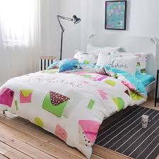 trendy lime green hot pink coffee and white colorful lifestyle elegant girls 100 cotton twin full size bedding sets