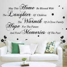 image is loading may this home wall art quotes wall stickers  on home wall art quotes with may this home wall art quotes wall stickers words phrases home wall