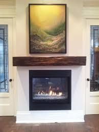 reclaimed wood mantels for a rustic or antique fireplace photos of
