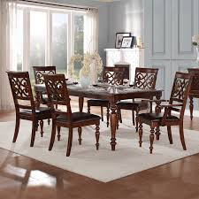 Emma Catherine Cherry Extending Dining Set by iNSPIRE Q Classic by iNSPIRE Q.  Dining Room TableExtendable ...