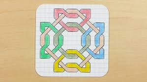 Cool Graph Paper Drawings Cool Patterns To Draw On Graph Paper