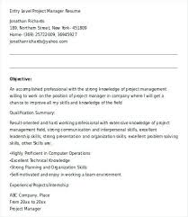 Entry Level Human Resources Resume Objective Entry Level Human Resources Resume Entry Level Human Resources 83