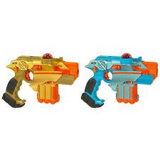 Light Strike Laser Tag Instructions Amazon Com Lazer Tag Nerf Two Player Battle System Toys