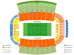 Wakemed Stadium Seating Chart Ncsu Carter Finley Stadium Seating Chart Bedowntowndaytona Com