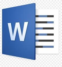 microsoft word icon word microsoft word icon mac free transparent png clipart images