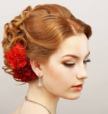 short curly updo for prom prom hairstyles