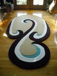 helpful odd shaped rugs swirl rug rats