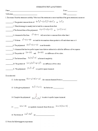 solving quadratic equations and graphing parabolas factored form of