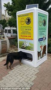 Dog Biscuit Vending Machine Gorgeous An Idea That's A Dog's Dinner Company Creates Vending Machine That