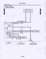 subaru forester wiring diagram 2007 subaru free wiring diagrams 2000 Subaru Forester Wiring Diagram 06 '08) wiring diagram for '07 clock? subaru forester owners 2000 subaru forester wiring diagram