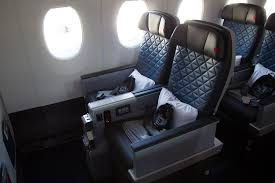 the new premium select cabin it is a step below deltaone it caters those pengers who cannot afford the jump from economy cl to the suites but still