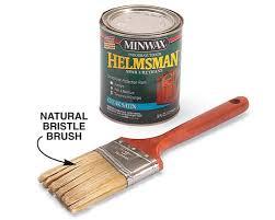 exterior varnish or urethane