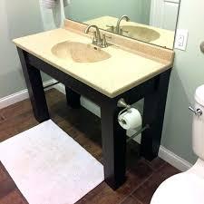 ada bathroom vanity build complete compliant public remodel improved vanities ada bathroom