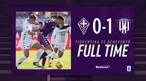 Benevento corsaro al Franchi: battuta 0-1 una brutta Fiorentina - VAVEL  Italia