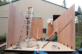 Small Picture Tiny House Non warping patented honeycomb panels and door cores