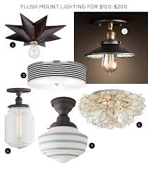 nice flush mount kitchen ceiling light fixtures the 30 best flush mount lighting fixtures making it