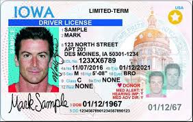 Iowa The Get Driver's Gazette New Licenses Design A