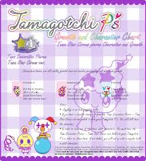 Tamagotchi Growth Chart Ps Pierce Guide