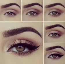 8 pasos para maquillaje de ojos marrones eye makeupbeauty