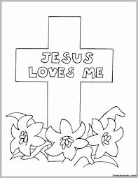Free Religious Easter Coloring Pages For Kids Printable Coloring