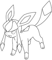 Glaceon Coloring Book Eevee Pokémon Espeon Pokemon 832960