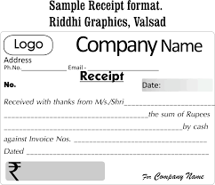Format For Receipt format of receipt Cityesporaco 1