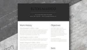 Modern Sleek Resume Templates Professional Resume Template Freebie Sleek And Simple