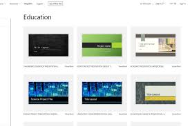 Ppt Template For Academic Presentation Microsoft Powerpoint Templates For School