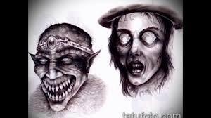 значение тату демон смысл история варианты фото эскизы для