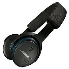 bose earphones wireless. bose soundlink on-ear bluetooth wireless headphones \u2013 black earphones
