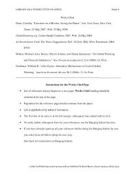 Mla Formatting 8th Ed Citation Guide Central Indiana