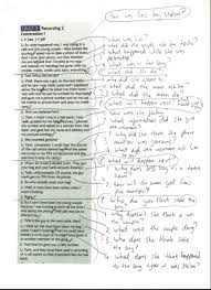 listening skills tim s english lesson plans annotated transcript lisa0001