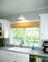 Pendant Light Over Sink Island Kitchen Lighting Within Above Prepare