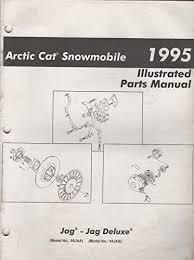 arctic cat snowmobile jag trainers4me 1995 arctic cat snowmobile jag jag deluxe parts manual p n 2255 148 743