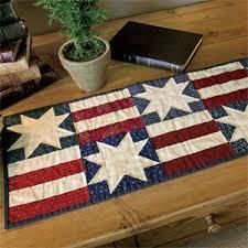 Stars & Bars: Patriotic Table Runner Quilt Pattern & Simple Stars & Bars: Patriotic Table Runner Quilt Pattern Adamdwight.com