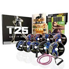shaun t s focus t25 home fitness dvd workout programme