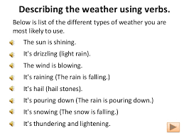 Everyday English Conversation Weather