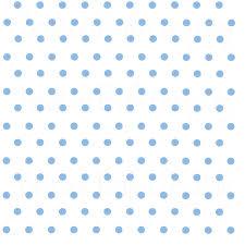 White With Light Blue Polka Dots Craft Vinyl Htv